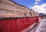 Mixtec Palace at Mitla in Oaxaca Valley