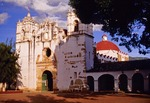 Precious Blood of Christ Church at Teotitlan in the Oaxaca Valley