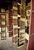 Indian rug market at Teotitlan in the Oaxaca Valley