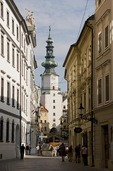 Bratislava Old Town with St. Michael's Gate Tower