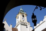 Bratislava's Old Town Hall clock tower