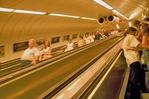 Budapest subway escalator