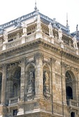 Hungarian State Opera House on Pest's Andrassy Boulevard in Budapest was designed in neo-Renaissance style by architect Miklos Ybi