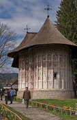Humor Painted Monastery of Bucovina decorated with 15th & 16th century frescoes