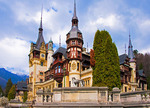 Peles Castle built in 19th century at Sinaia in Wallachia, most famous royal residence in Romania, contains casino