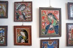 Romania's Museum of Icons on Glass at Sibiel in Transylvania