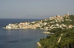 Neum, a Bosnian town on Adriatic coast