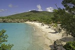 Curacao's Playa Abou beach