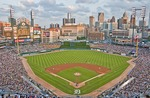Detroit Tigers host Seattle Mariners at Comerica Park in Detroit
