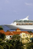 Sint Maarten: Royal Caribbean cruise ship