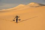 Vietnam's Bao Trang (White Lake) sand dunes at Mui Ne in Phan Thiet province