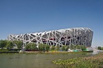 China National Stadium, the Birds Nest, site of 2008 Suymmer Olymoc Games in Beijing