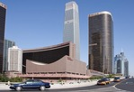China World Trade Center in Bejing's diplomatic and business district includes China World Hotel and China World Exhibition Hall