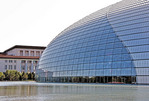 China: National Centre for the Performing Arts, National Grand Theater, adjacent to the Great Hall of the People in Beijing