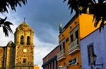 Colorful town of Tequila in Jalisco, home of Jose Cuervo Tequila company and other distillers
