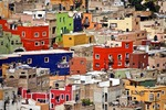 Guanajuato's colorful jumble of buildings