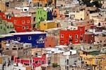 Guanajuato's colorful jumble of buildings
