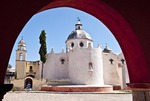 Atotonilco Temple convent site of holy paintings in Guanajuato state