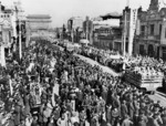 PLA (Peoples Liberation Army) triumphant parade into Peking on January 31, 1949