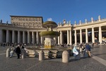 St. Peter's Square fountain