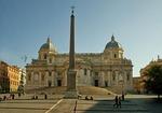Basilica di Santa Maria Maggiore and Piazza Dell Esquilino in Rome