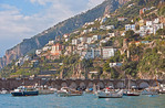 Amalfi harbor on the Amalfi Coast