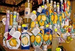 Amalfi shop specializing in Limoncello, locally made lemon liqueur
