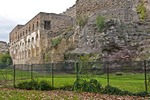 Outer wall of ancient Roman city of Pompeii