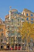 Antoni Gaudi's Casa Batllo in Barcelona