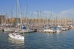 Barcelona's Darsena Nacional marina at Port Vell
