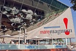 Barcelona's Maremagnum shopping center at Port Vell harbor