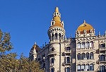 Spain: Barcelona's Casa Rocamora in Catalan Art Nouveau and Renaissance Gothic style