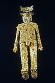 Jade suit with gold threads of Zhongshanjing King Liu Sheng, West Han dynasty, unearthed in Hebei, Mancheng, 1968