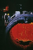 Beijing Capital (Shoudu) Iron and Steel blast furnace in 1988