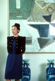 1988 portrait of Shanghai born American author Bette Bao Lord, wife of ambassador Winston Lord, at U.S. embassy residence
