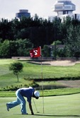 Beijing Chaoyang Golf Club's 9 hole course, built in 1988, was first in China