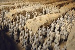 Qin Shihuangdi Museum #1 Vault Terra Cotta Army formation of soldiers