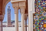 Morocco's Hassan II Mosque in Casablanca is world's 5th largest with world's tallest minaret