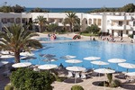 Pool at El Mouradi Gammarth resort hotel along Mediterranean Sea at Tunis, Tunisia
