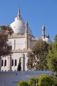 Saint Louis Cathedral built in Byzantine-Moorish style on Byrsa Hill overlooking Bay of Carthage near Tunis