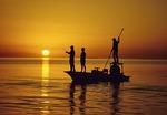 Flatboat fly fishing in Islamorada area of Florida Keys