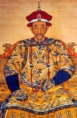 Emperor Kangxi of Qing dynasty in imperial robes