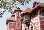 Napier Museum of Arts and Crafts in Indo-Saracenic style by architect Robert Chisholm in Kerala's capital of Trivandrum.