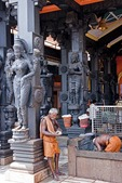 A Hindu temple in Kerala's capital of Trivandrum.