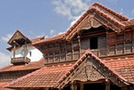 Padmanabhapuram Palace, old 17th century palace of the Rajas, near Trivandrum in Tamil Nadu and adminstered by government of Kerala.