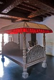 Padmanabhapuram Palace bedroom