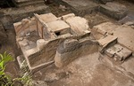 Joya de Ceren (Jewel of Ceren), ruin of pre-Columbian Mayan farm village buried in 590 AD by volcanic eruption (known as