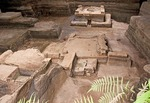 Joya de Ceren (Jewel of Ceren), ruin of pre-Columbian Mayan farm village buried in 590 AD by volcanic eruption (known as &quot;Pompeii of the Americas&quot;), UNESCO World Heritage site