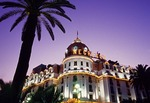 1912 Hotel Negresco on the Promenade des Anglais in Nice, France, is a Belle Epoque palace.