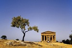 Ruins of the Temple of Concordia in Agrigento's Valley of the Temples was converted to a Christian church in 597 AD